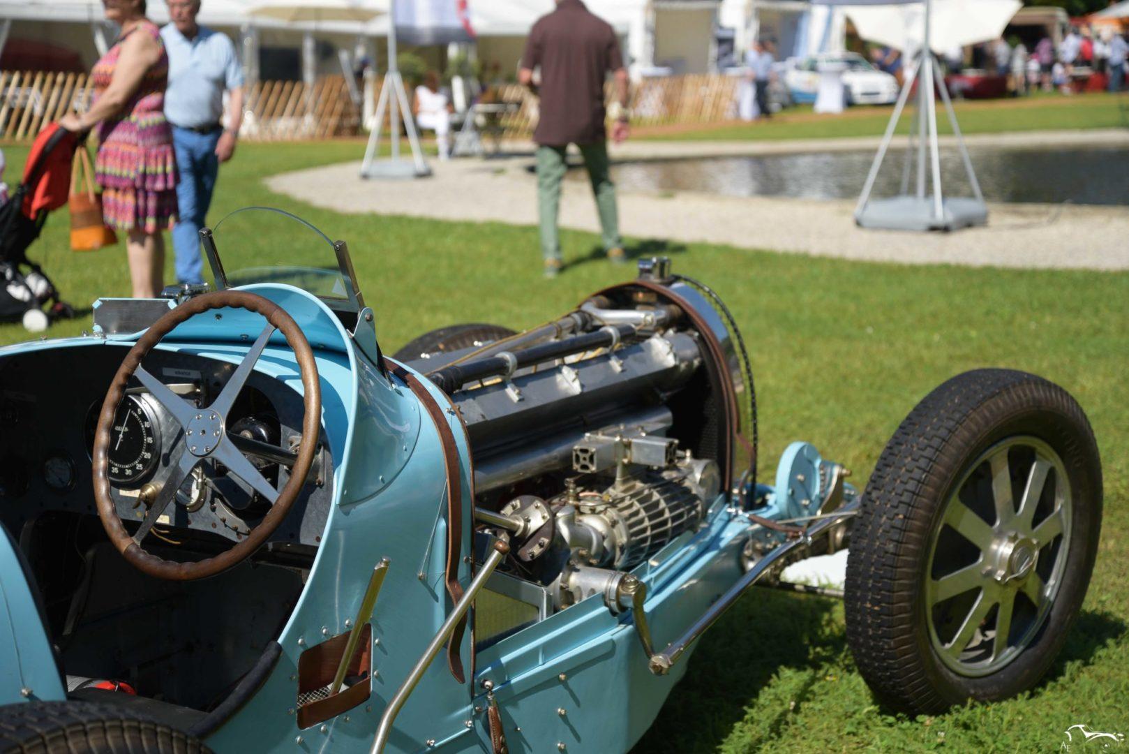 Bugatti Type 54 Roadster Concours d'élégance Suisse