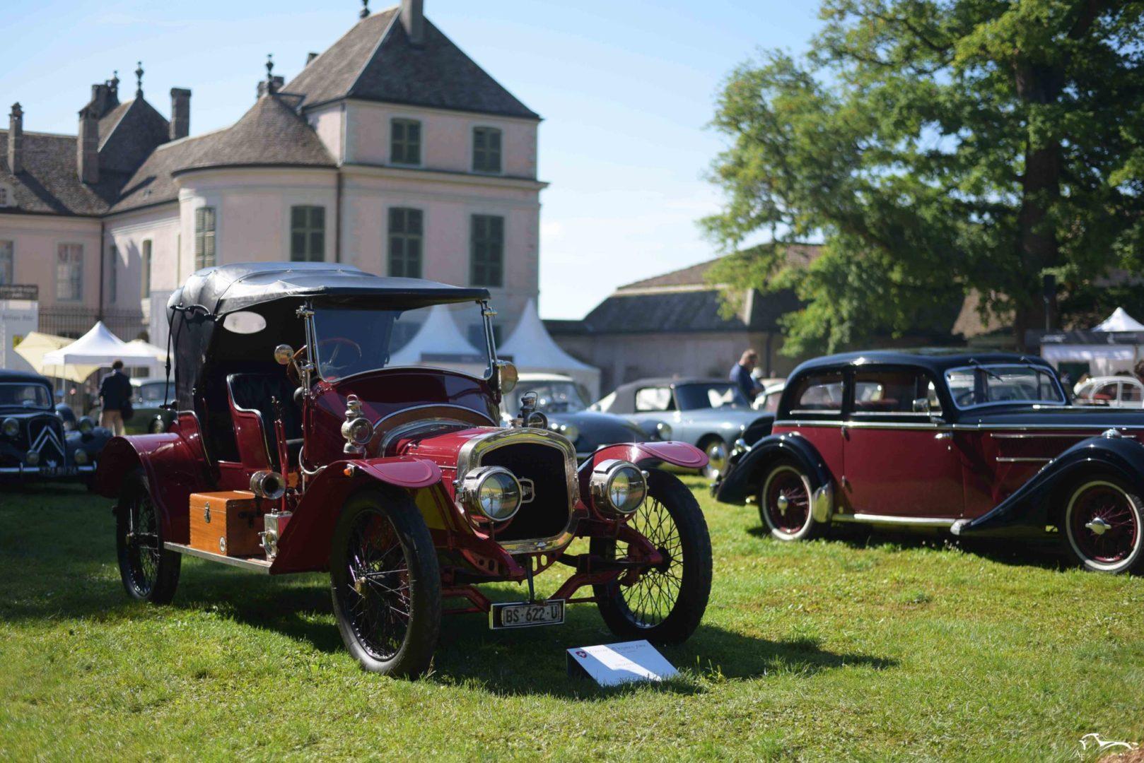 Delahaye 32A Concours d'élégance Suisse