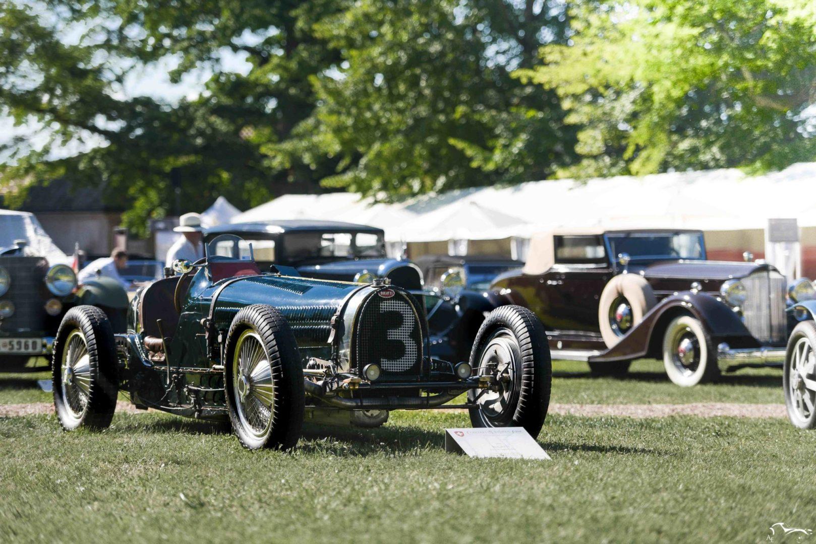 Bugatti Type 59 Grand Prix Concours d'élégance Suisse
