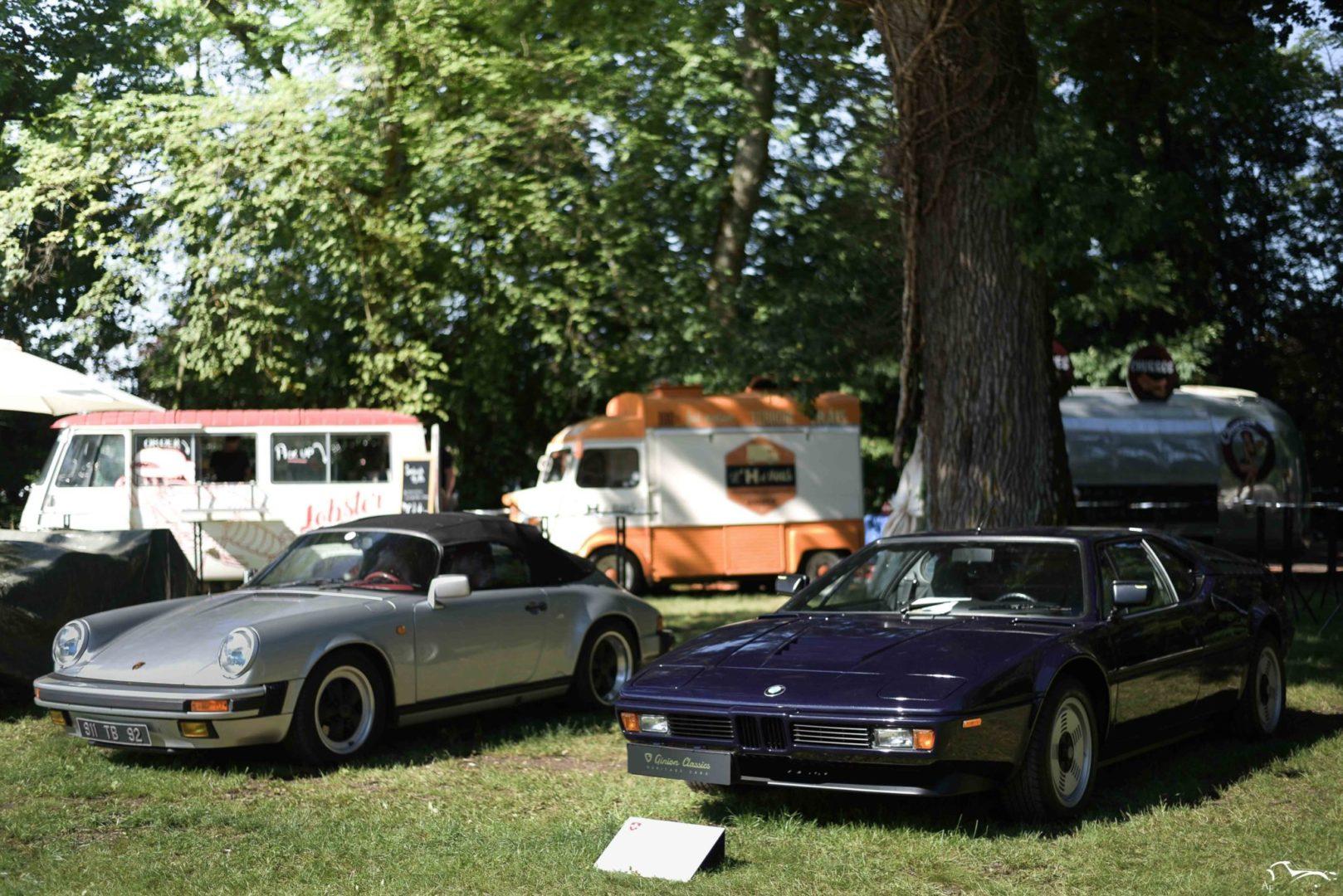 Porsche 911 & BMW M1