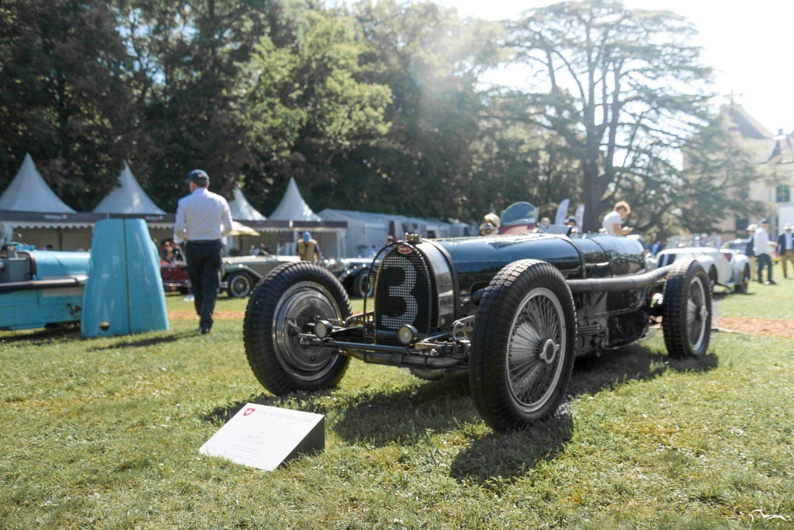 Bugatti Type 51 Grand Prix Concours d'élégance Suisse