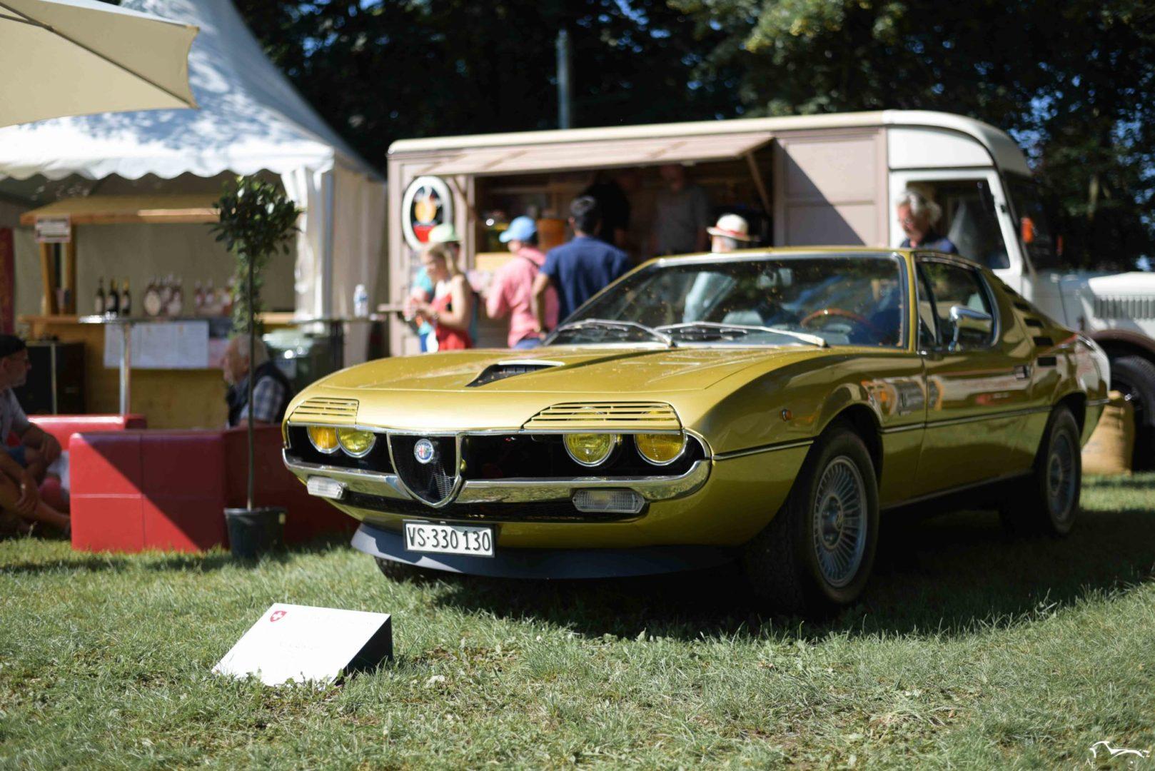 Alfa Romeo Montreal Concours d'élégance Suisse