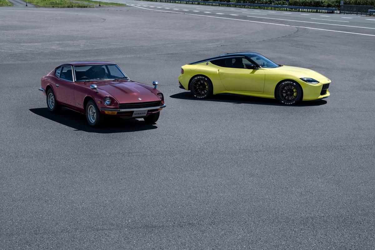 Nissan Z Proto and Datsun 240 Z