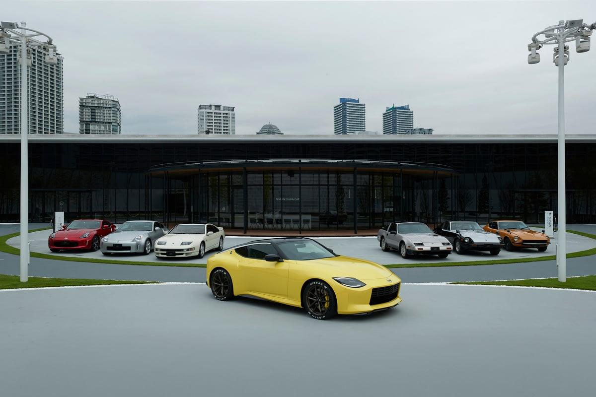 Datsun Z and Nissan Z lineup