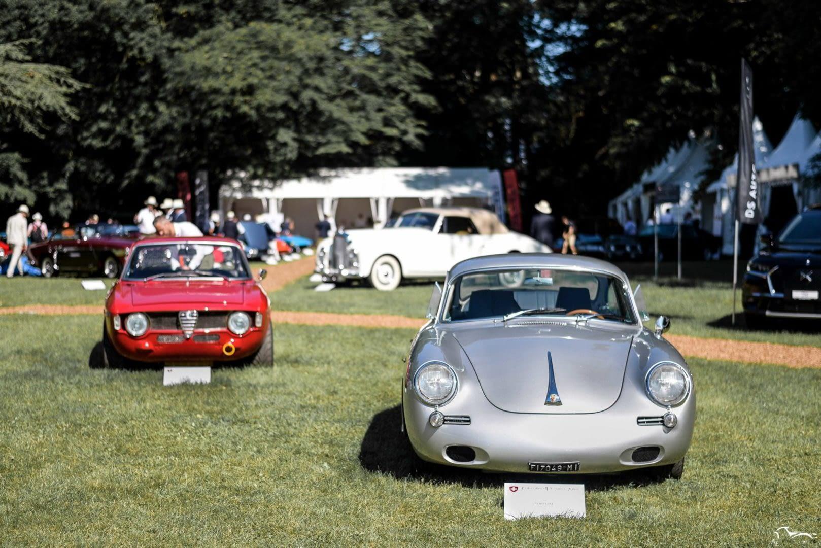 Alfa Romeo Giulia Sprint GTA & Porsche 356C SC 95