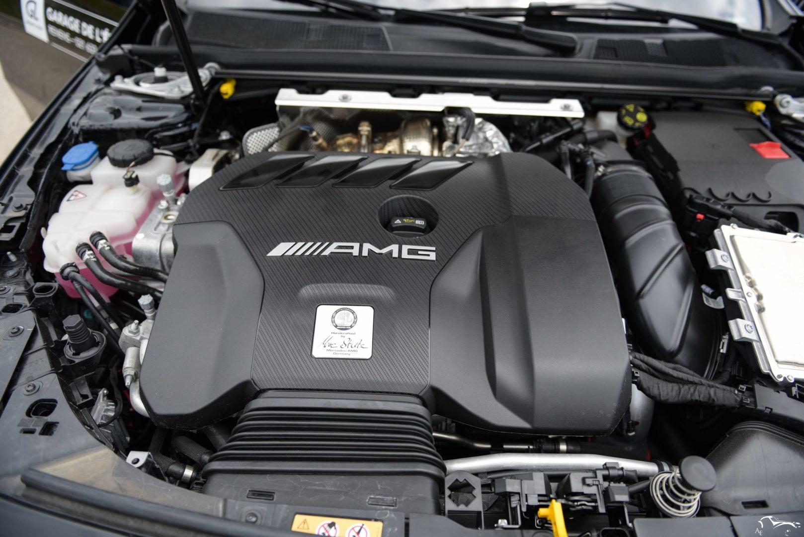 Mercedes-Benz AMG A45S W177 M139 Engine