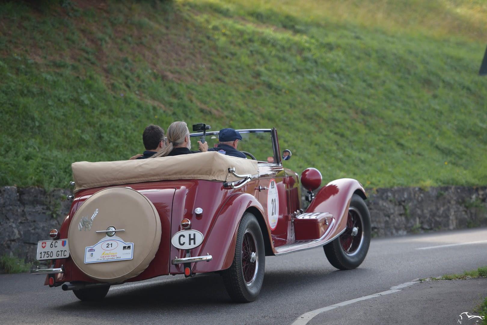 Alfa Rome 6C1750 GTC Carr. Sala