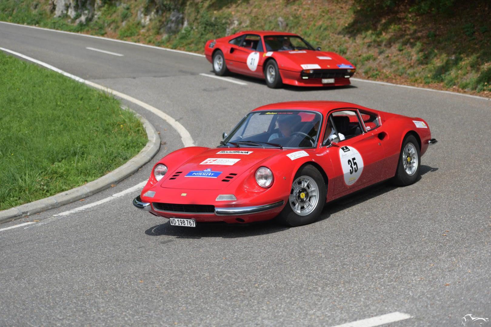 Ferrari Dino 246 GT & Ferrari 308 GTB