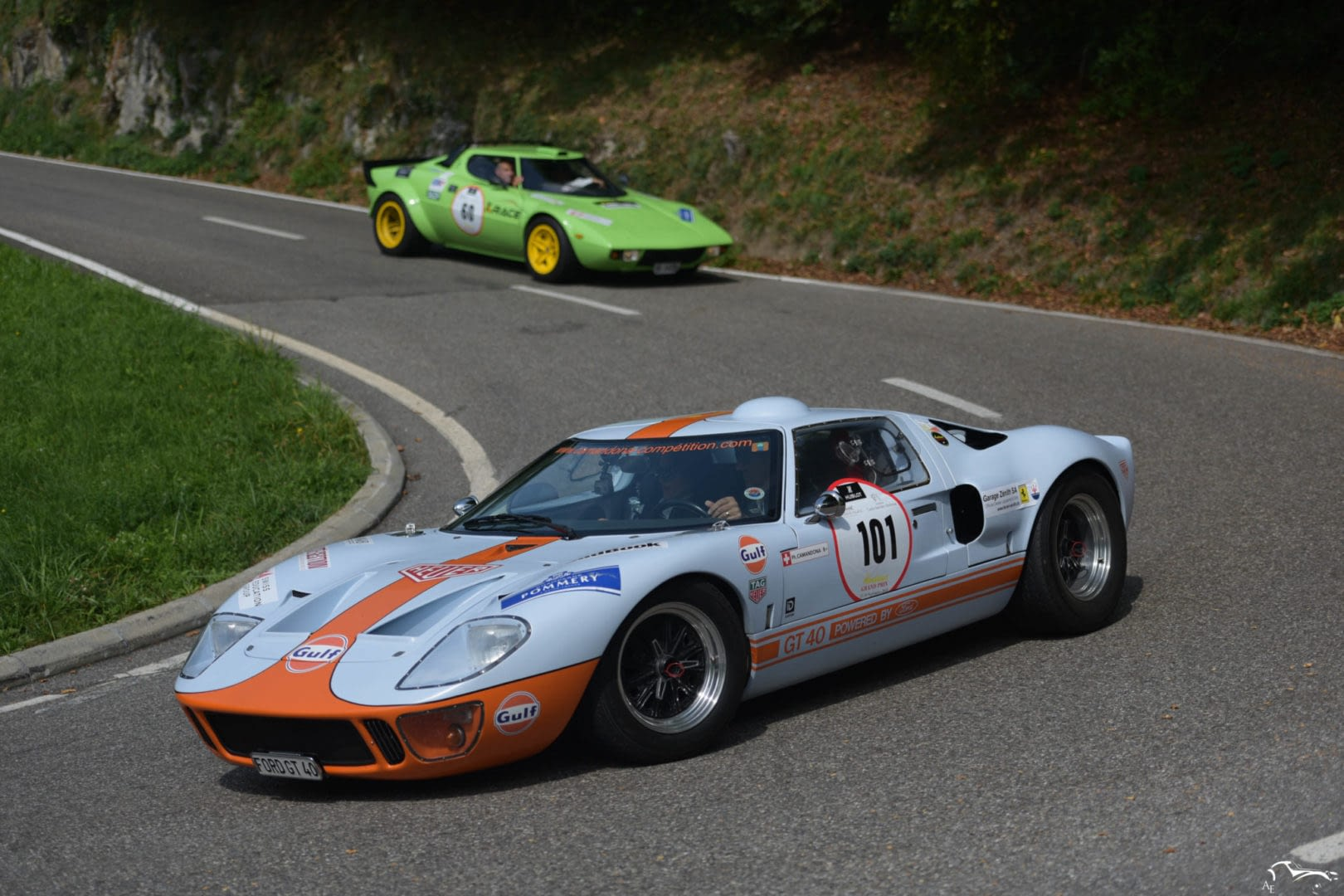 Ford GT40 & Lancia Stratos
