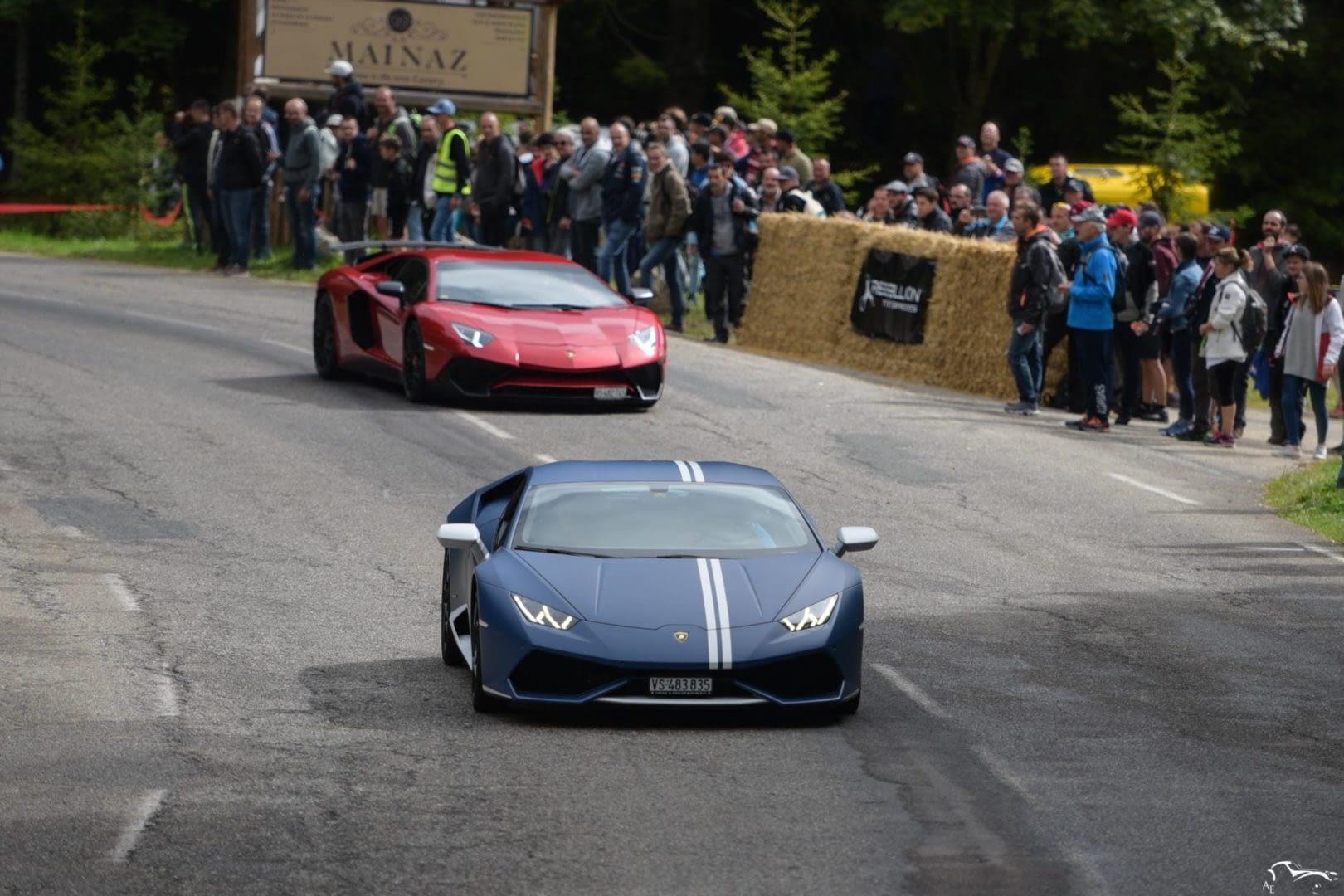 Lamborghini Huracan & Aventador SV
