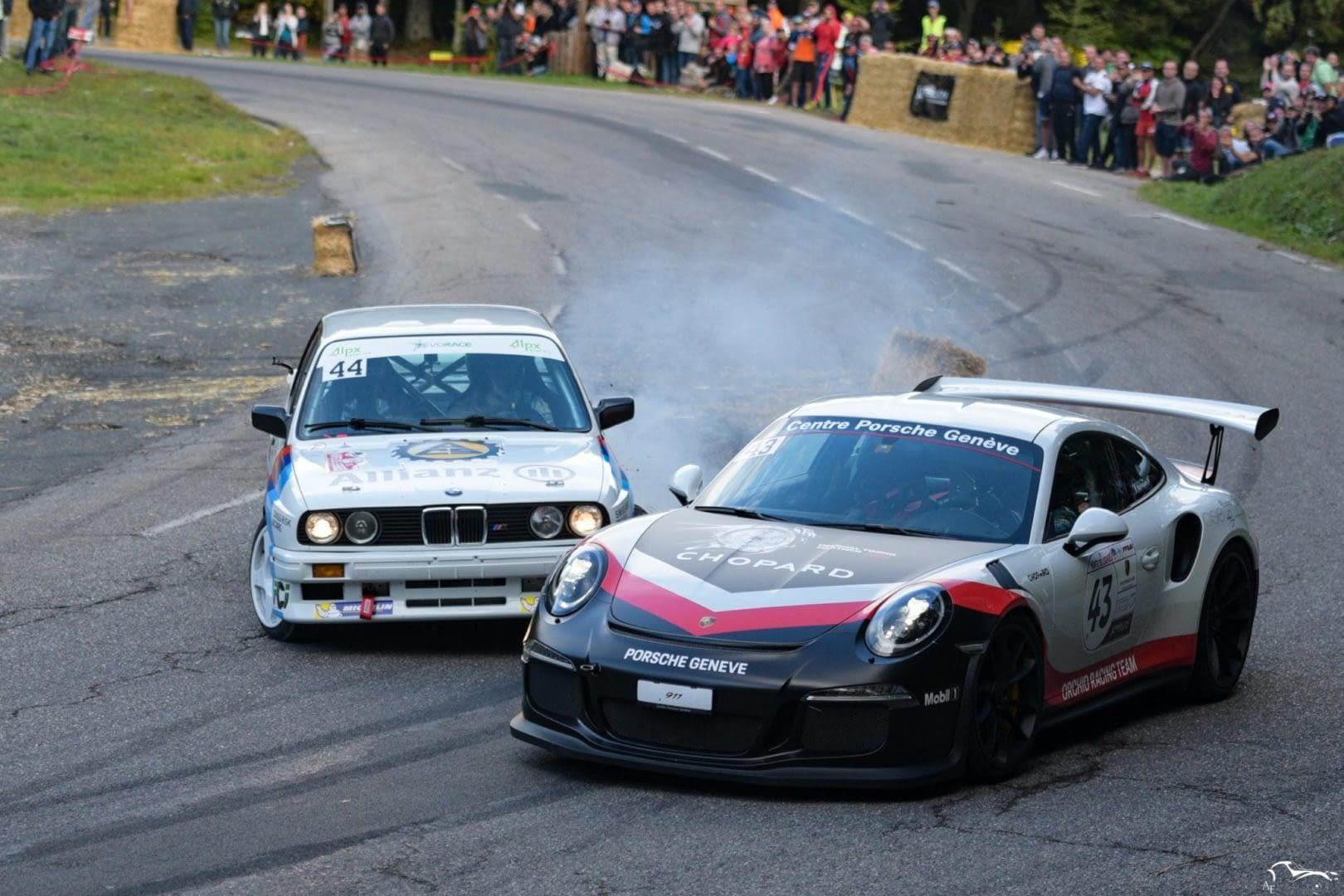 BMW M3 & Porsche GT3 RS
