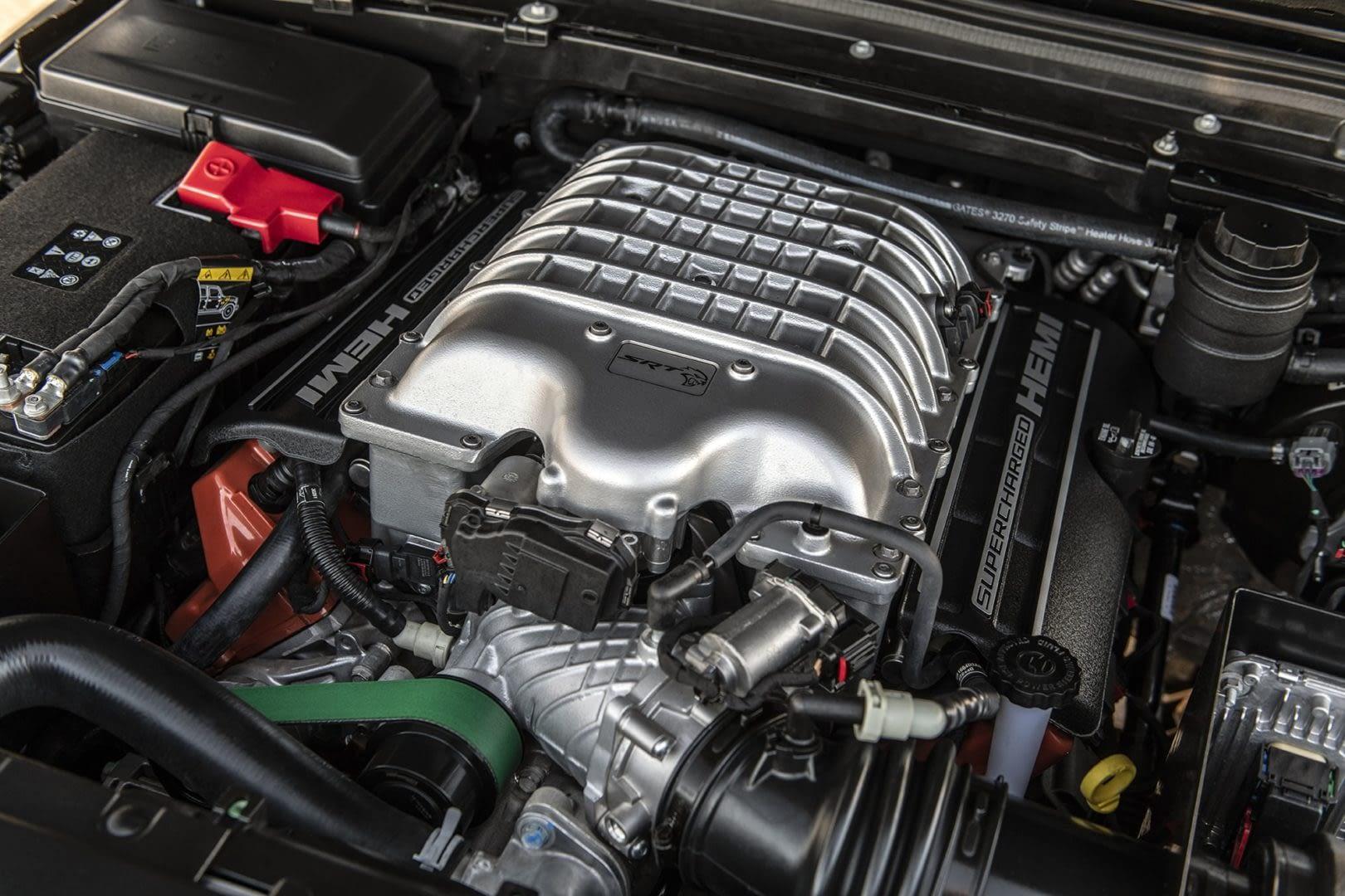 Jeep Gladiator Hennessey Maximus engine