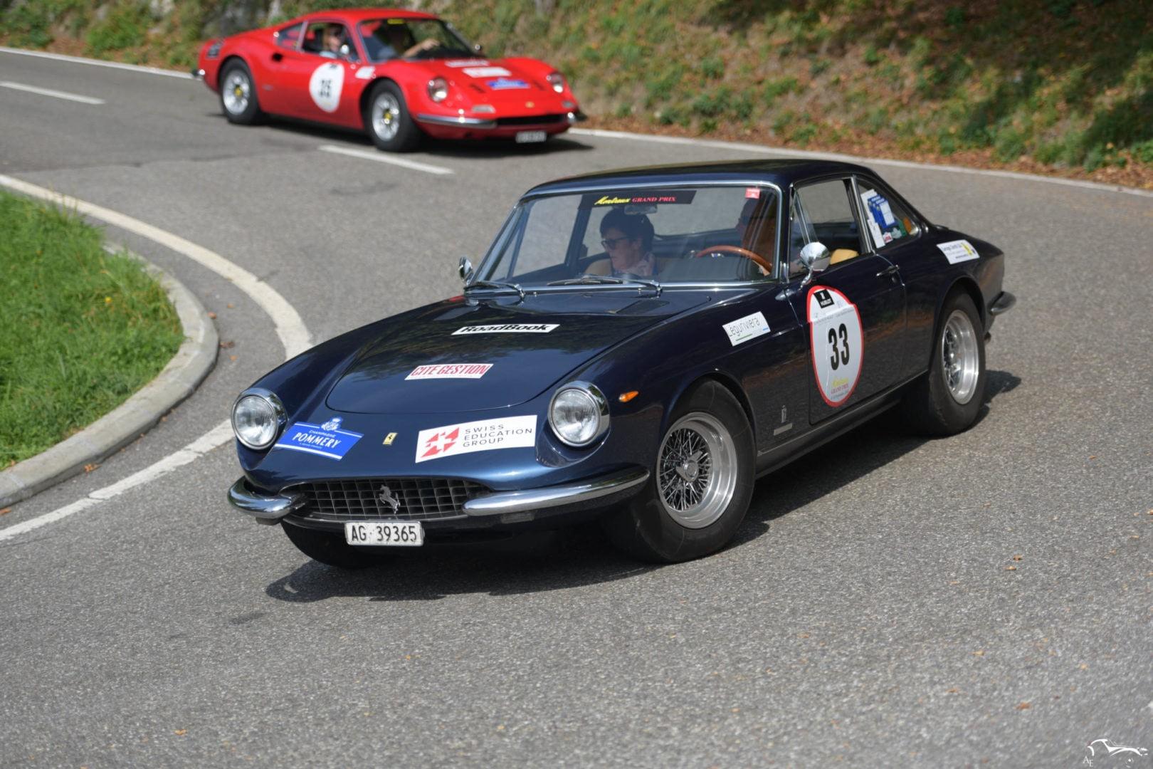 Ferrari 365 GTC & Ferrari Dino 246 GT