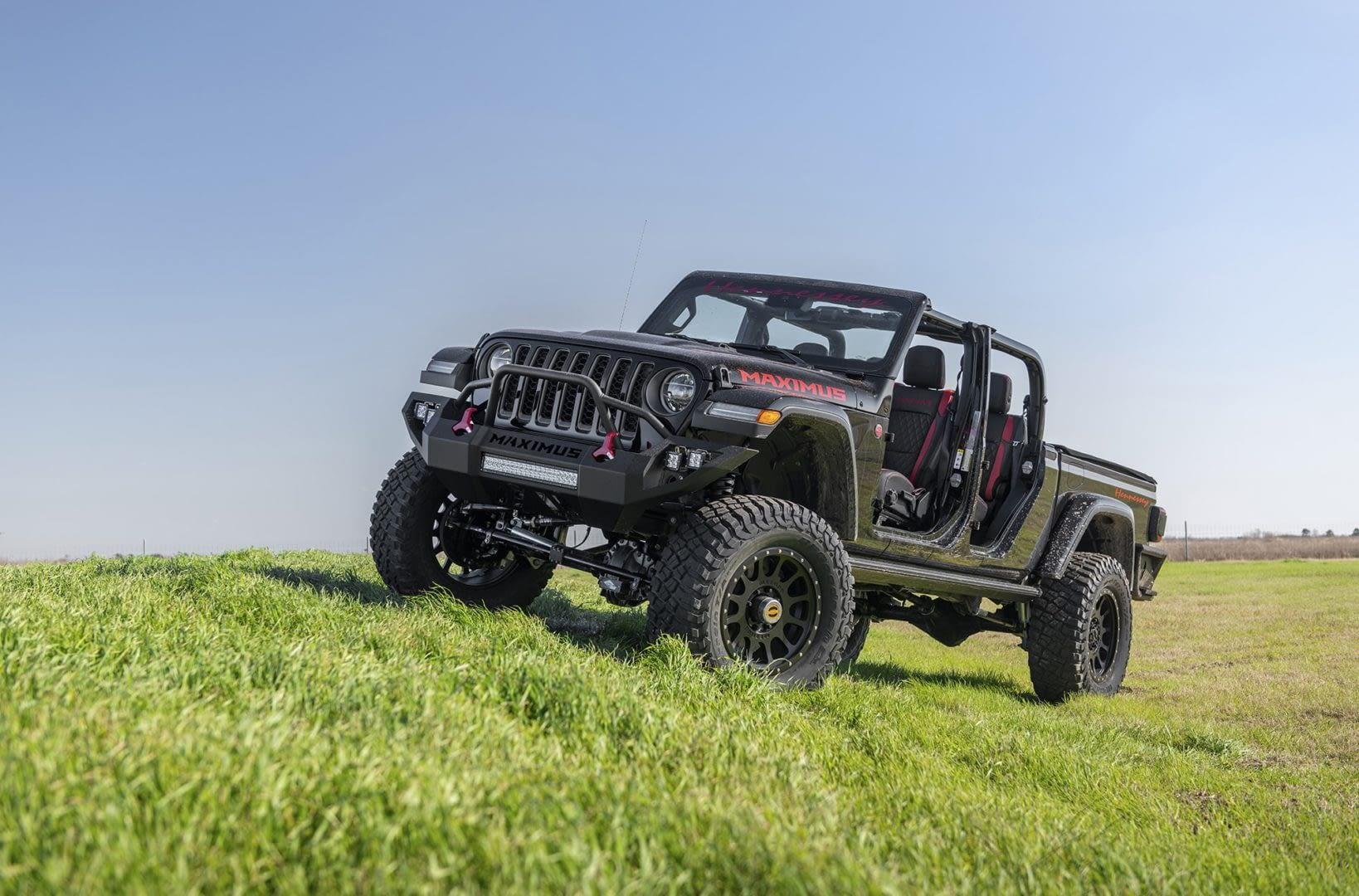 Jeep Gladiator Hennessey Maximus