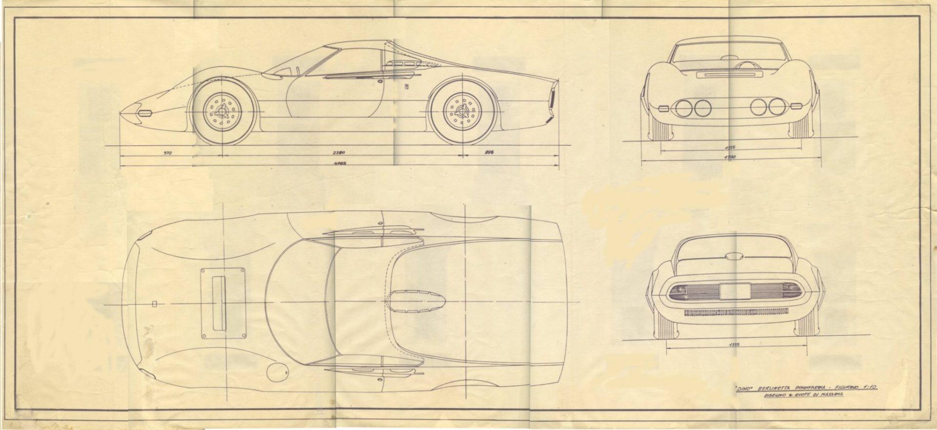 Dino car blueprint