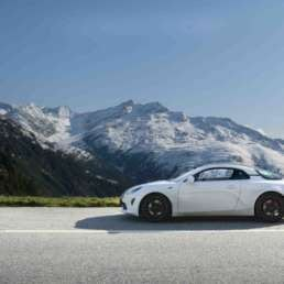 Alpine A110S, Grimsel, Switzerland
