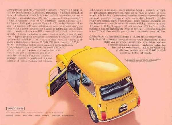Innocenti catalog Lightweight