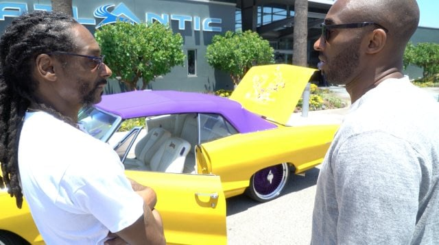 Kobe Bryant Pontiac Convertible