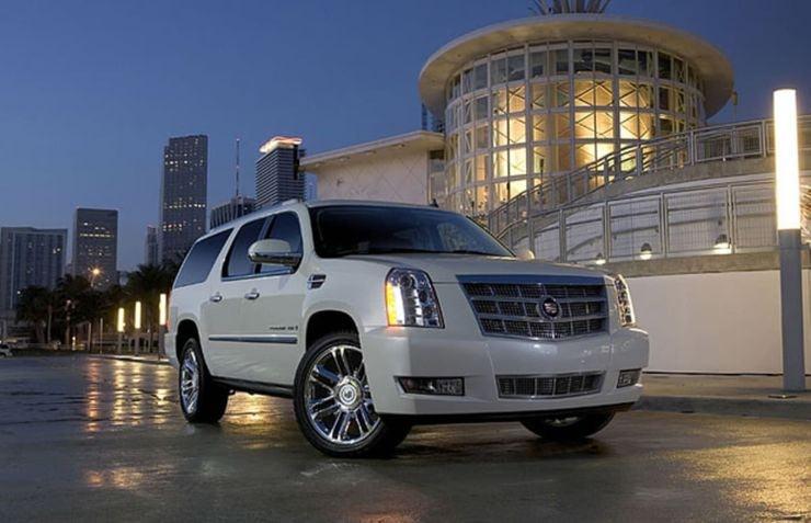Kobe Bryant Cadillac Escalade