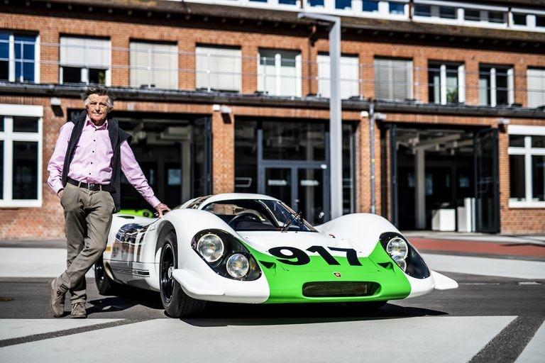 Porsche 917-001 with Hans Metzger